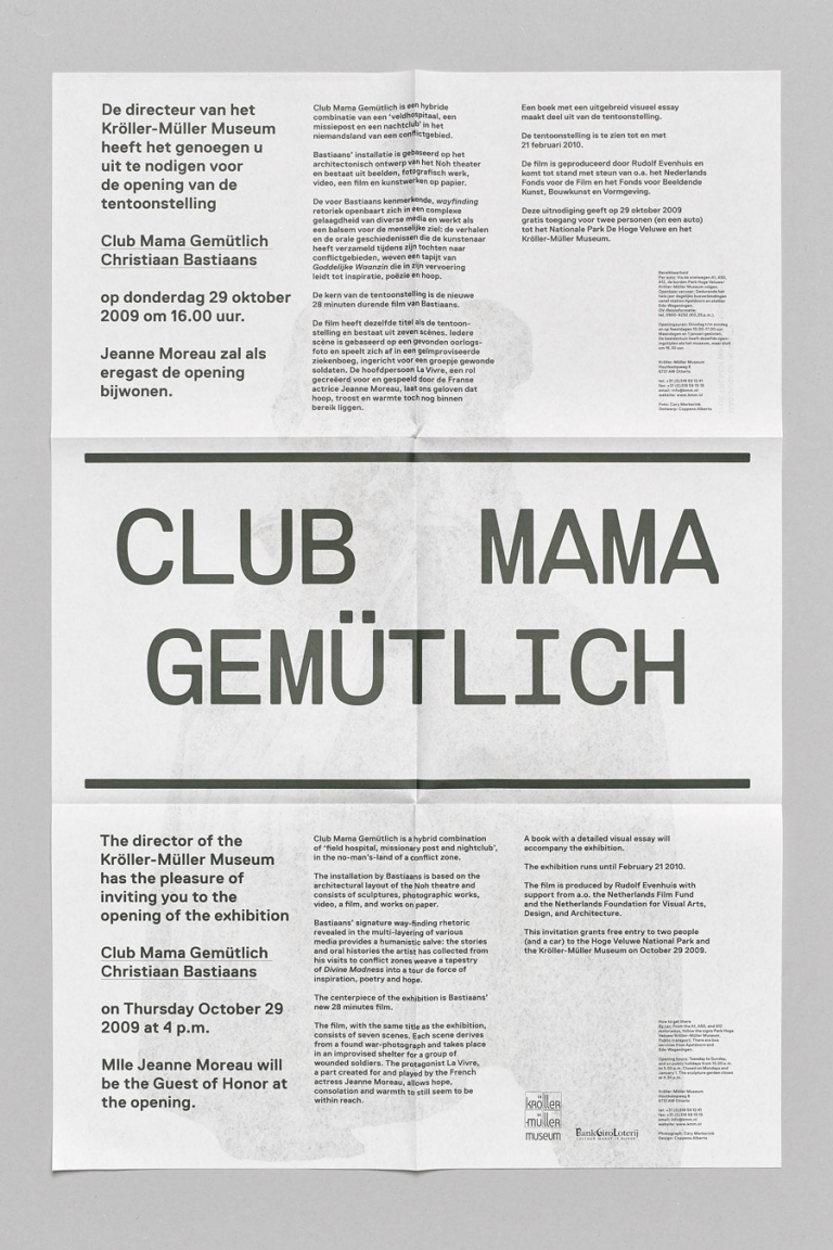 coppens alberts Club Mama Gemütlich. Christiaan Bastiaans